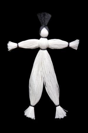 Sewing craft string fiber thread doll toy men Stock Photo - 6380803