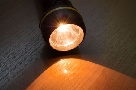 Flashlight lighting equipment bright illuminated