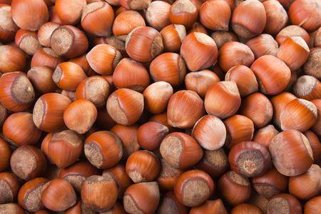 Healthy eating vegetarian nut food brown hazelnut photo