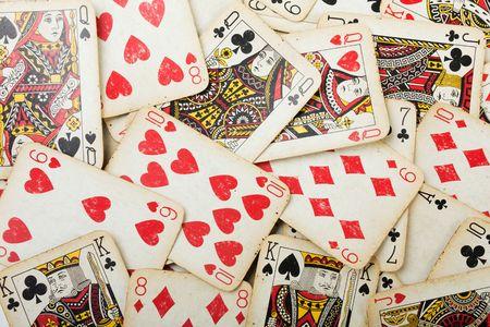 Karten-Glücksspiel Leisure Poker Spiel Ace Hintergrund