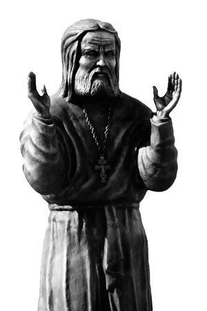 Religion spirituality praying god priest statue photo