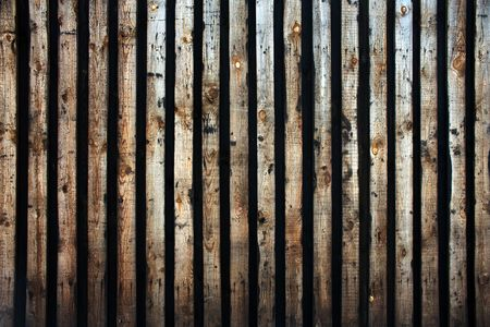 Wood log background textured pattern plank wall Stock Photo - 6852314