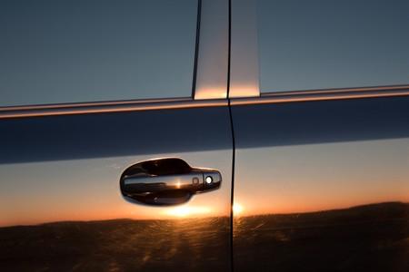 llave de sol: Vista lateral de cielo Sunset viaje ligero auto reflexi�n