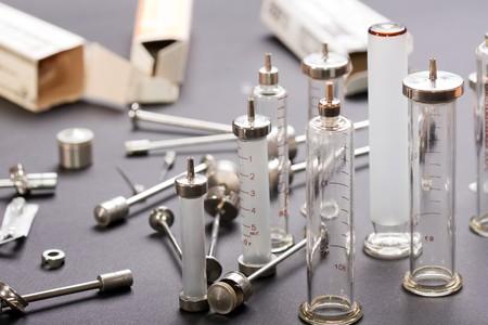 reusable: Medicina vaccinazione per via parenterale riutilizzabile siringa