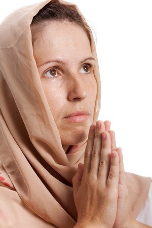 Religion spirituality pray god women person hand photo