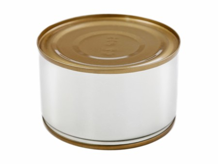 Canned preserved food aluminum metal container can photo