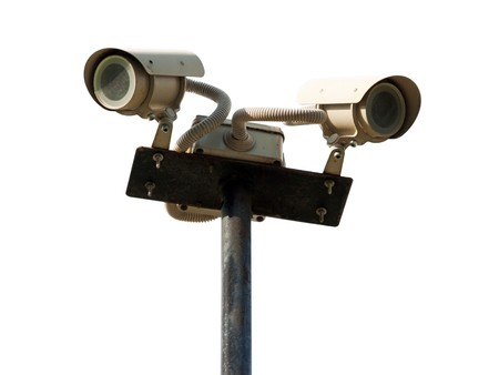 Safety watching surveillance system security camera Stock Photo - 7919011