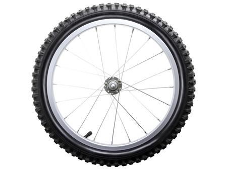 aluminum wheels: Deporte neum�tico y habla rueda de bicicleta mientras aislado