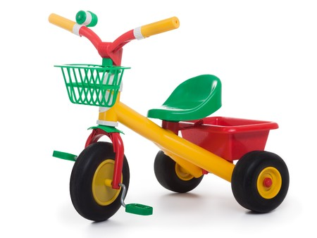 tricycle: Tricycle - child pedal wheel cycling bicycle toy