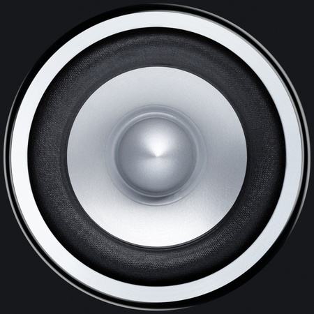Stereo music audio equipment bass sound speaker photo