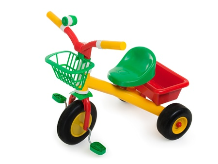 Tricycle - child pedal wheel cycling bicycle toy photo