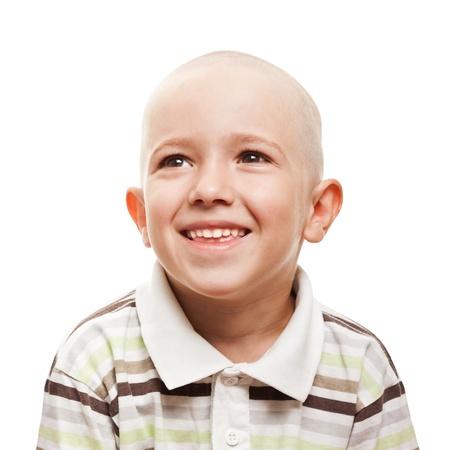 nackter junge: Kleine fröhliche Kind Junge Glück fun lächelnd