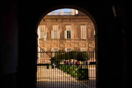 Piazza Castello - Turin - Italy Banco de Imagens - 98903454