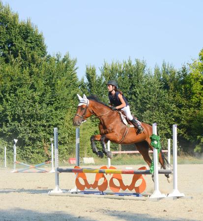 bravery: jump rider make a very bravery jump