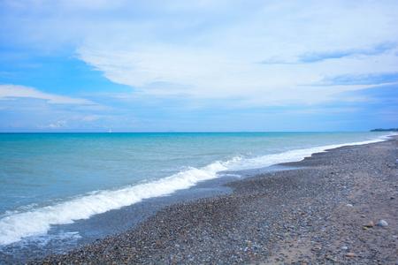 beauties: view of gulf of cefalù seaside in Sicily