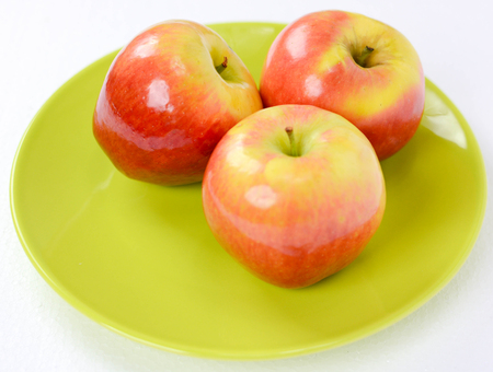 freshly: italian freshly piked apples for health life Stock Photo