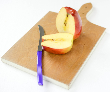 goodness: split apple in half safe goodness