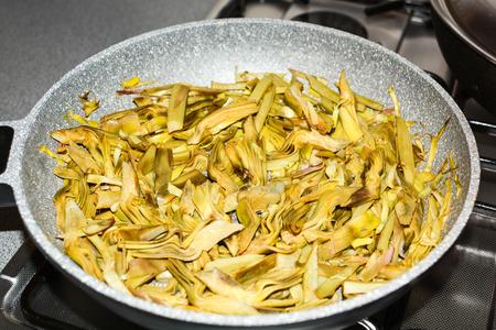fine cuisine: original italian fine cuisine artichokes salad