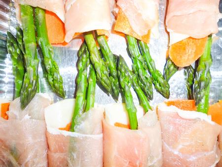fine cuisine: original finger food of Italian fine cuisine