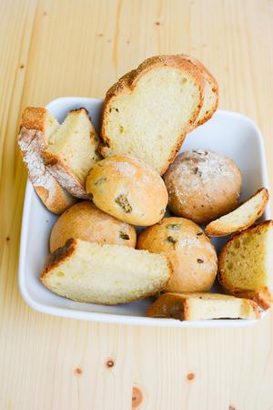 italian original special homemade bread Stock Photo