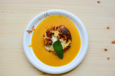 original food of Italian fine cuisine