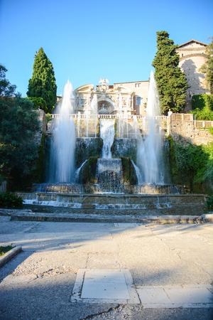 hidden treasures of Italy Ovato fountain and waterfall