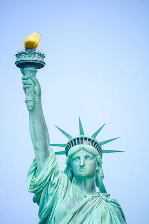 Lady Liberty vues originales de la statue