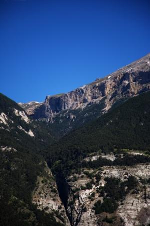 Italian Alps Landscape, Mountain Stock Photo