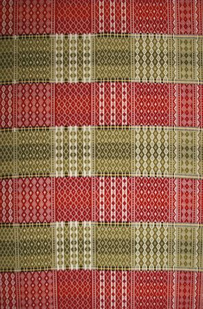 red carpet background: Traditional Norwegian tapestry
