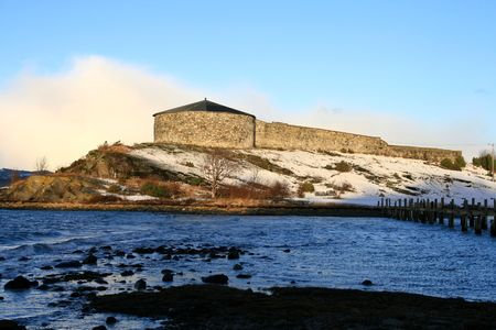 Steinvikholm castle photo