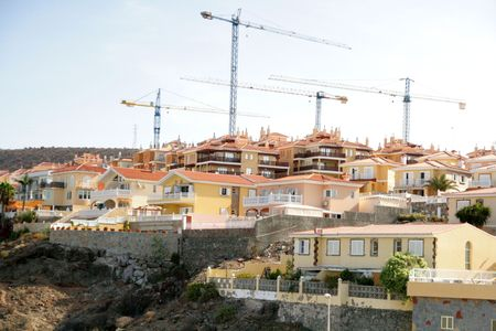 New buildings in Gran Canary