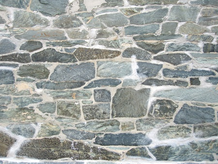 slate texture: Old stone wall background