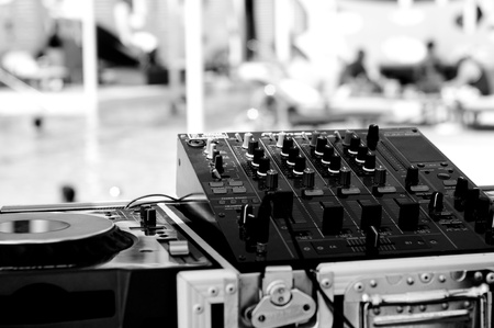 GJ Mixing Decks Stock Photo - 10101627