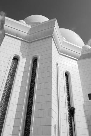 abu dhabi mosque: Abu Dhabi Mosque Detail
