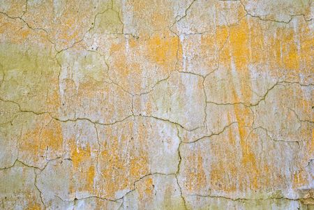 old, dirty, painted, wall, background Stock Photo - 2650619