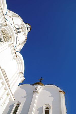 Slavic church North city of Russia Murmansk photo