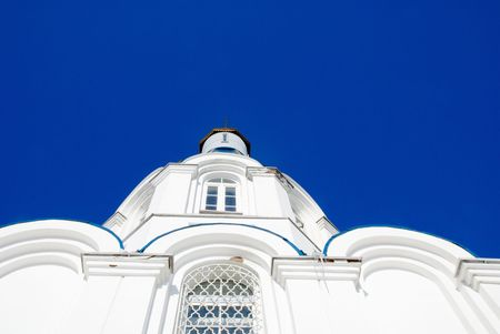 slavic church in Murmansk, north of Russia photo