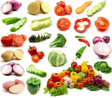 large page of vegetables photo
