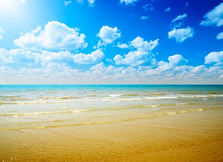 sand and ocean Stock Photo - 4428228