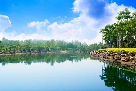 park in Thailand photo
