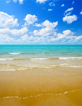 sand and ocean Stock Photo - 4548681