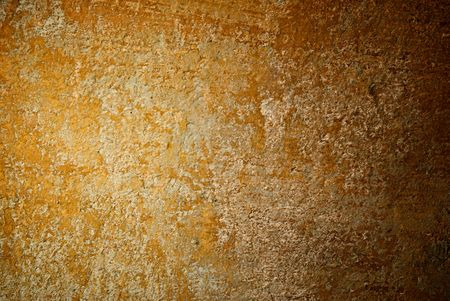 hause: old cracked, paited wall Stock Photo