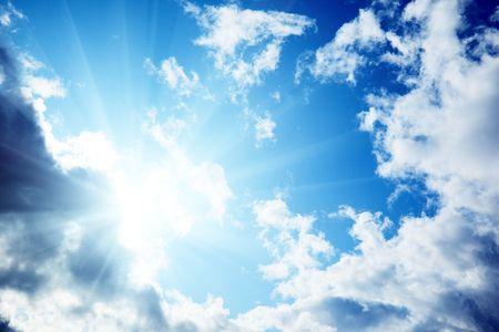 cloudy blue sky Stock Photo - 5523425