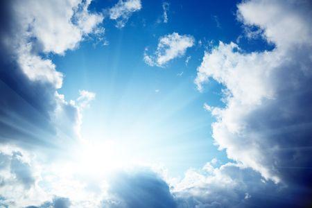 cloudy blue sky Stock Photo - 5568928
