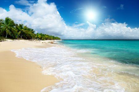 catalina: spiaggia di Catalina island, Repubblica Dominicana