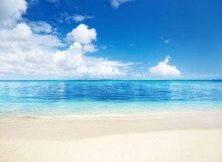 sand of beach caribbean sea Stock Photo - 6777671