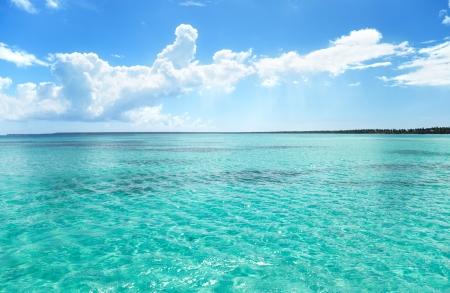 cielo y mar: mar y cielo perfecto