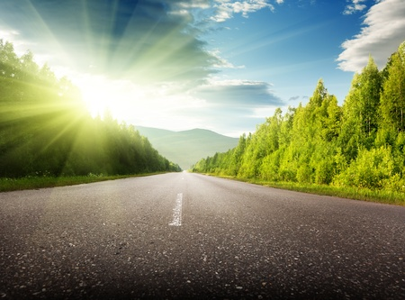 road in Russian mountains Stock Photo - 8432108