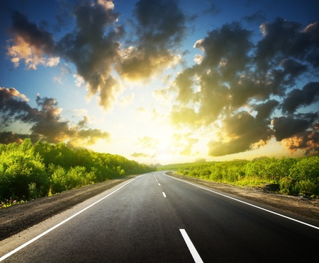 road in Russian mountains Stock Photo - 8730932