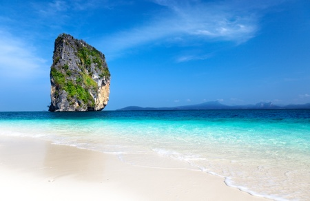 Poda island in Krabi Thailand photo
